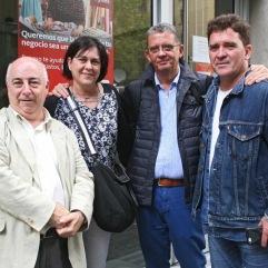 Jesús González Albalat, Carol Espona y Santiago Tarín
