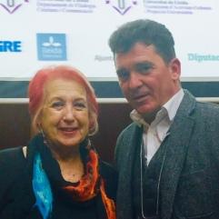 con Rosa M. Calaf